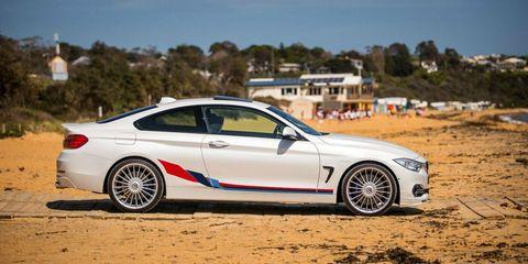グラフィック デカール ステッカー 車体用 / BMW 4シリーズ F32 2013-2019 / Mパフォーマンス クーペ サイドストライプグラフィック ステッカーデカール