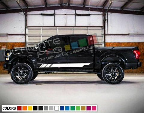 グラフィック デカール ステッカー 車体用 / フォード F150 ラプター / サイドドア ストライプステッカー