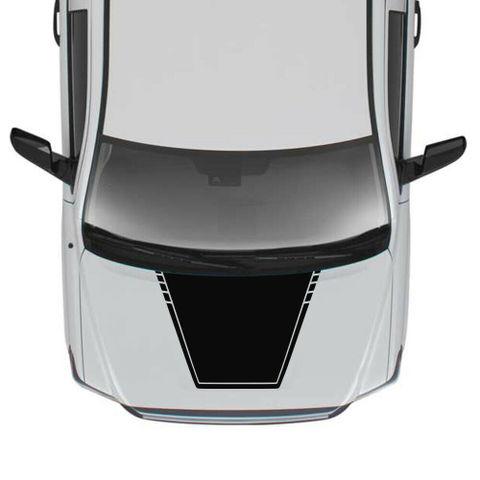 グラフィック デカール ステッカー 車体用 / トヨタ タンドラ 2017 2018 2019 / フードステッカー