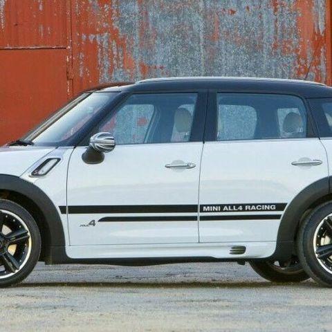グラフィック デカール ステッカー 車体用 / ミニ カントリーマン R60 / サイドストライプ ALL4レーシングスタイル