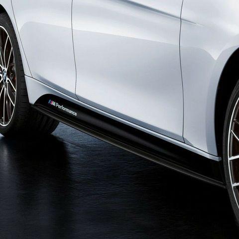 グラフィック デカール ステッカー 車体用 / BMW 3シリーズ F30 328i 335i / サイドスカートステッカーデカール SPORT M Performance