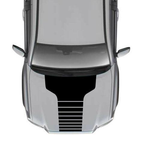 グラフィック デカール ステッカー 車体用 / トヨタ タコマ 2007 / フードデカール