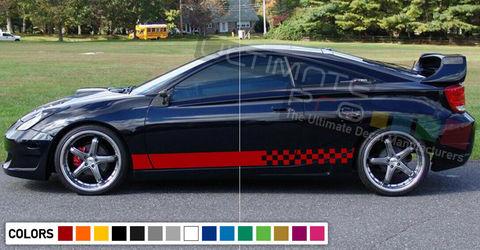 グラフィック デカール ステッカー 車体用 / トヨタ カローラ GT4 ST205 / ストライプステッカー
