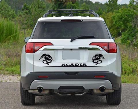 グラフィック デカール ステッカー 車体用 / GMC アカディア / テールゲート・ステッカー