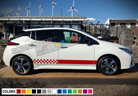 グラフィック デカール ステッカー 車体用 / 日産 リーフ 2018 / ストライプキット