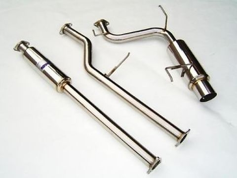 Honda Accord ホンダ アコード 2-DR/4-DR (4-Cyl) 1998-2001 Invidia  CAT-BACK EXHAUST N1 マフラー