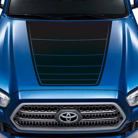 グラフィック デカール ステッカー 車体用 / トヨタ タコマ 2016-2018 / TRDスポーツ フードデカール