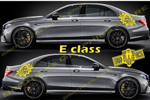 グラフィック デカール ステッカー 車体用 / メルセデスベンツ Eクラス / デカールキット・ステッカー