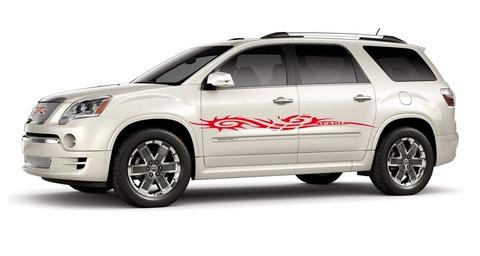 グラフィック デカール ステッカー 車体用 / GMC アカディア / 2Xデカール ストライプ・ステッカー