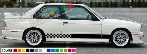 グラフィック デカール ステッカー 車体用 / BMW M3 E30 1986 1988 1989 1990 1990 1991 1992 / ストライプステッカー