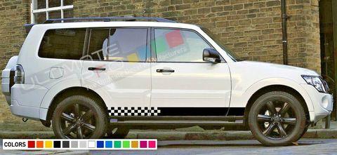 グラフィック デカール ステッカー 車体用 / 三菱 パジェロ 2001 2012 / ストライプステッカーキット