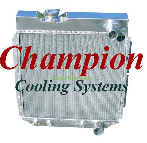 64-66 マスタング/ファルコン/コメット Champion 2層 アルミ ラジエター   EC259