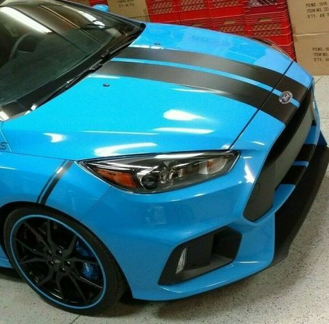 グラフィック デカール ステッカー 車体用 / フォード フォーカス RS 2009 2010 2011 2012 / フルステッカー