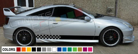 グラフィック デカール ステッカー 車体用 / トヨタ カローラ ZZT231 GT-S / ストライプステッカー
