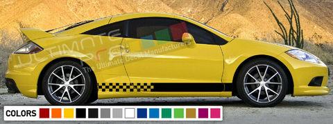 グラフィック デカール ステッカー 車体用 / 三菱 エクリプス 1990 2012 / ストライプステッカー