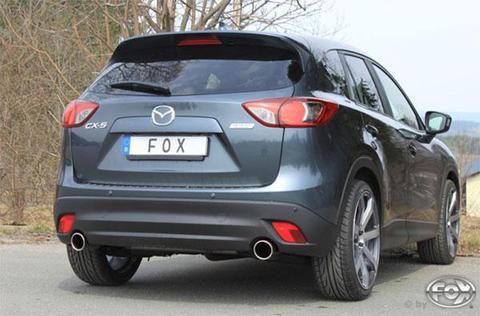 FOX RS2本出しマフラー MAZDA CX-5 2.2ディーゼル MA220015-133