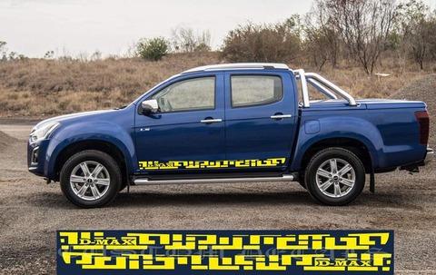グラフィック デカール ステッカー 車体用 / いすゞ D-Max / ユニーク・ステッカー