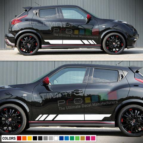 グラフィック デカール ステッカー 車体用 / 日産 ジューク / サイドドア ストライプステッカー