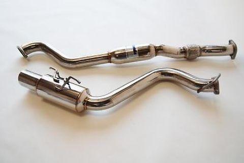 Subaru スバル インプレッサ WRX STI  5ドア  2008-2011 Invidia Stainless Steel Tip CAT-BACK EXHAUST ステンレスエンド N1 マフラー