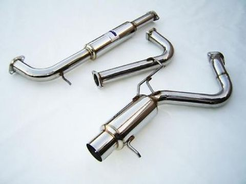 Mitsubishi ECLIPSE 三菱 イクリプス V6 2000-2005 Invidia  Stainless Steel Tip CAT-BACK EXHAUST N1 マフラー