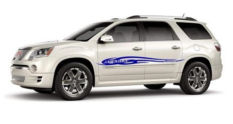 グラフィック デカール ステッカー 車体用 / GMC アカディア / ライン ストライプ・ステッカー