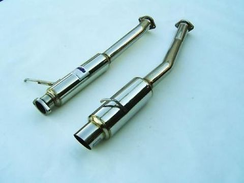 Toyota トヨタ 80 スープラ Supra Turbo JZA80 1993-1998 Invidia Stainless Steel Tip CAT-BACK EXHAUST ステンレスエンド N1 マフラー