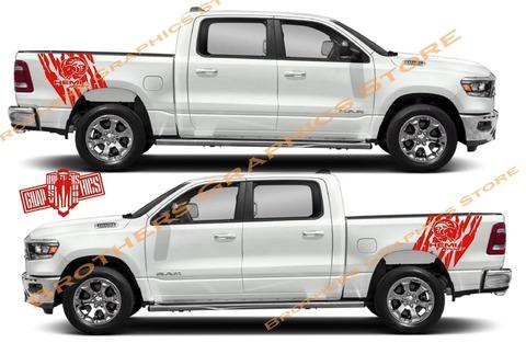 グラフィック デカール ステッカー 車体用 / ダッジ ラム / ストライプ グラフィック・ステッカー