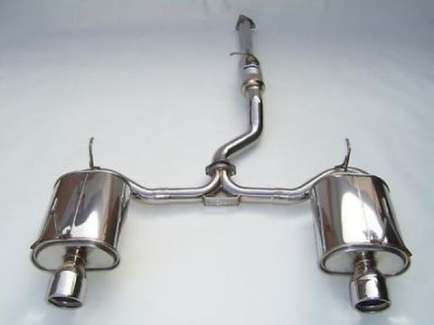 Honda ホンダ S2000 2000-2009 Invidia Stainless Steel Tip CAT-BACK EXHAUST Q300 マフラー ステンレスエンド