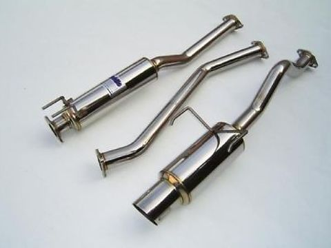 Honda Civic EX 2-DR/4-DR  2001-2005 Invidia  CAT-BACK EXHAUST N1 マフラー
