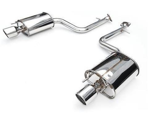 Lexus レクサス IS200T 2015- Invidia Rolled Stainless Steel Tip Axle-Back Exhaust (No Mid-Pipe) CAT-BACK EXHAUST Q300マフラー