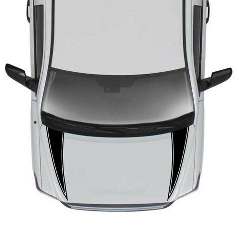 グラフィック デカール ステッカー 車体用 / トヨタ タンドラ / 4x4 ストライプ フードステッカーキット