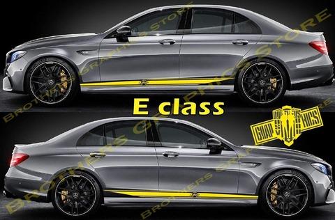 グラフィック デカール ステッカー 車体用 / メルセデスベンツ Eクラス / ストライプ・ステッカー / 1