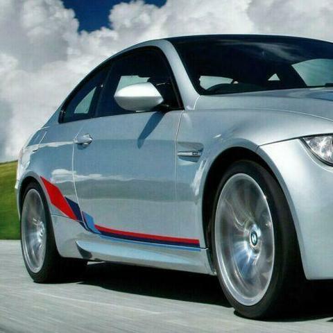 グラフィック デカール ステッカー 車体用 / BMW 3シリーズ E92 2004-2013 / クーペMパフォーマンス サイド ストライプ