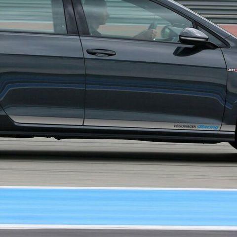 グラフィック デカール ステッカー 車体用 / フォルクスワーゲン ゴルフ MK7 / レーシング サイド ストライプ グラフィック