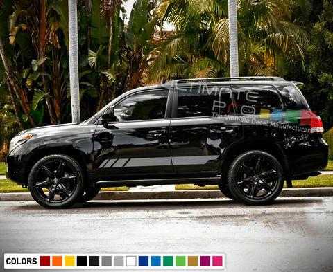 グラフィック デカール ステッカー 車体用 / トヨタ ランドクルーザー / サイドドア ストライプステッカーセット