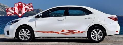 グラフィック デカール ステッカー 車体用 / トヨタ カローラ / ストライプ・ステッカー