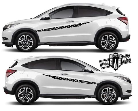 グラフィック デカール ステッカー 車体用 / ホンダ HR-V / 2X ストライプ・ステッカー