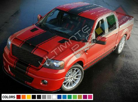 グラフィック デカール ステッカー 車体用 / フォード F-150 / フルボディ ストライプステッカー