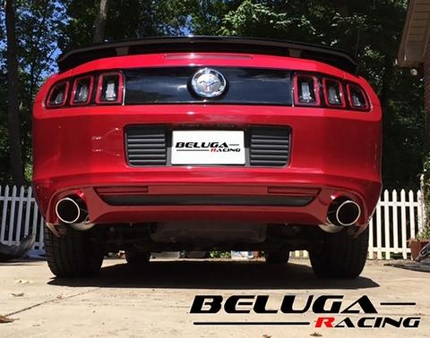 フォード マスタング Ford Mustang 2011 2012 2013 2014 V6 3.7L Beluga Racing リアセクション パフォーマンス マフラー
