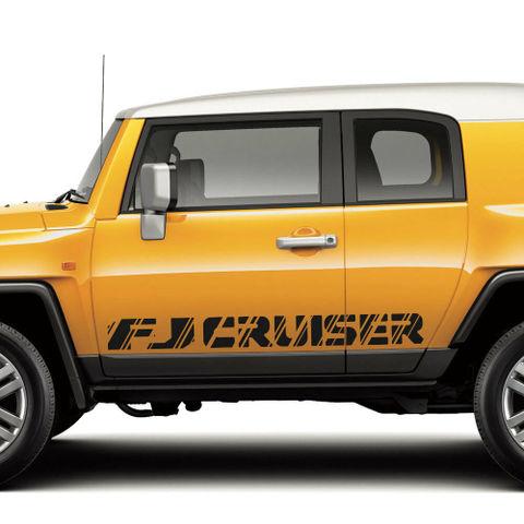 グラフィック デカール ステッカー 車体用 / トヨタ FJクルーザー TRD / スポーツサイドストライプグラフィックデカールワイルドスタイル