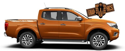 グラフィック デカール ステッカー 車体用 / 日産 フロンティア / ステッカー