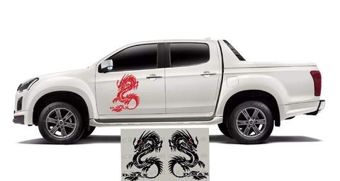 グラフィック デカール ステッカー 車体用 / いすゞ D-Max / ドラゴン・ステッカー
