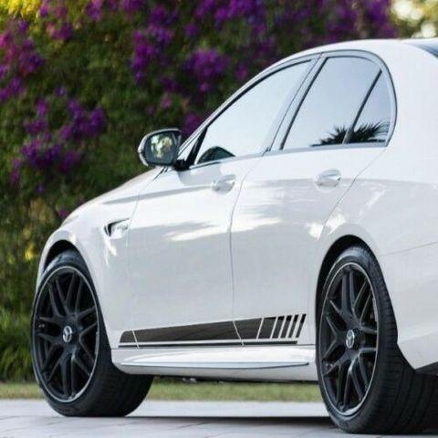 グラフィック デカール ステッカー 車体用 / メルセデスベンツ Eクラス S213 / AMGスポーツ ストライプデカール