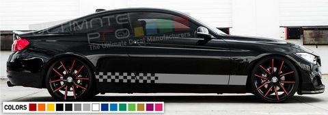 グラフィック デカール ステッカー 車体用 / BMW M4 F82 F83 2009 2010 / サイドドア ストライプキット