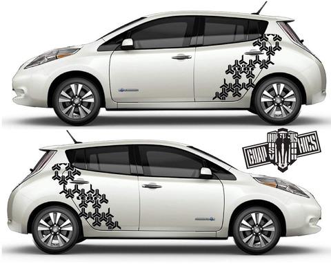 グラフィック デカール ステッカー 車体用 / 日産 リーフ / グラフィックス・ステッカー