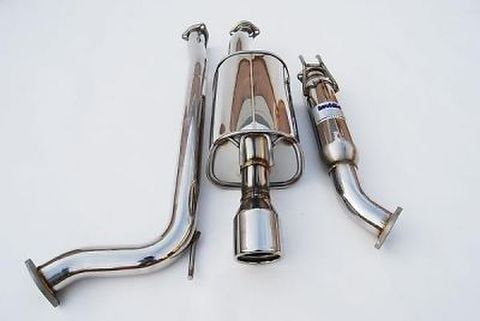 Honda Civic ホンダシビック Si Coupe 2006-2011 Invidia Rolled Stainless Steel Tip CAT-BACK EXHAUST Q300 マフラー ステンレスエンド