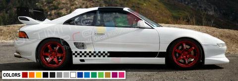 グラフィック デカール ステッカー 車体用 / トヨタ MR2 / ドアボディ ストライプグラフィック