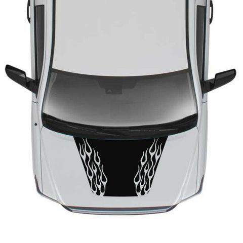 グラフィック デカール ステッカー 車体用 / トヨタ タンドラ 2014-2019 / 4x4 フードデカール