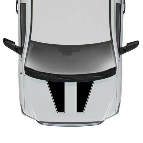 グラフィック デカール ステッカー 車体用 / トヨタ タンドラ 2007-2019 / 4x4 フードステッカー