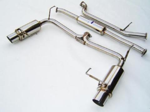 Honda Accord ホンダ アコード 2-DR/4-DR (6-Cyl) 1998-2001 Invidia  CAT-BACK EXHAUST N1 マフラー